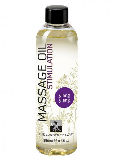 SHIATSU Massage Oil Stimulation, Ylang Ylang, 250 ml (8,5 fl.oz.)