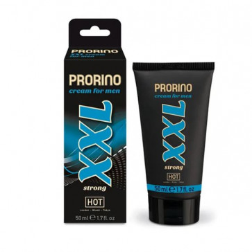 HOT PRORINO XXL Strong, Penis Cream for Men, 50 ml (1.7 fl.oz.)