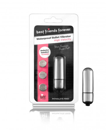 SI IGNITE BFF Bullet with Vibration, Waterproof, 7 cm (3,20 in), Silver