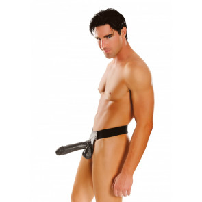 Hollow 10 Inch Strap-on