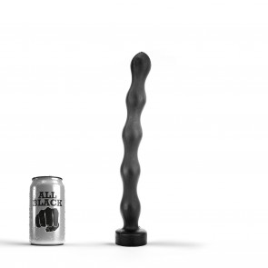 ALL BLACK Anal Chain AB69, Vinyl, Black, 32 cm (12,5 in)