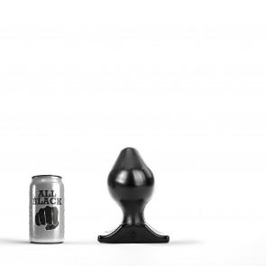 ALL BLACK Butt Plug AB73, Vinyl, Black, 17 cm (6,5 in)