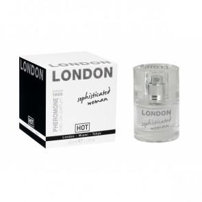 HOT PHEROMONE LONDON, Eau de Parfum for Sophisticated Women, 30 ml (1,0 fl.oz.)