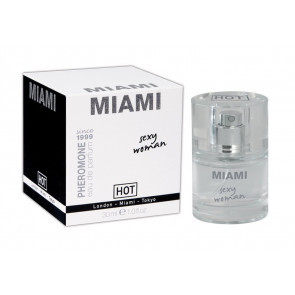 HOT PHEROMONE MIAMI, Eau de Parfum for Sexy Woman, 30 ml (1,0 fl.oz.)