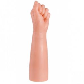 Giant Family Horny Hand Fist, PVC, Flesh, 33 cm (13.0 in), Ø 7,5 cm (3,0 in)