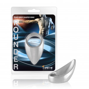 SI IGNITE Teardrop shaped Chrome Pounder Cockring, 32 mm (1,25 in)