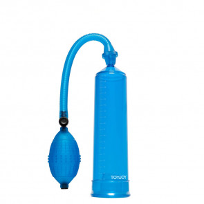 ToyJoy Manpower Power Pump, Blue, 20 cm (7,8 in), Ø 5,5 cm (2,0 in)