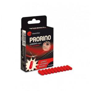 HOT PRORINO LIBIDO, Caps for Women, Sexual Health Supplement, 10 caps